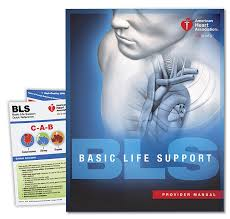 Basic Life Support (BLS) For Healthcare Providers Student Manual CPR Training Books