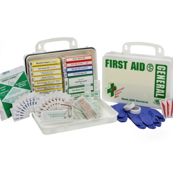 First Aid Kit and CPR supplies